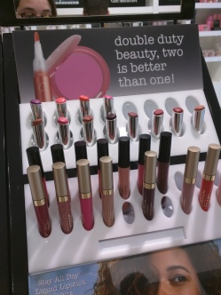 The Stila range of colours @ Mecca Cosmetics
